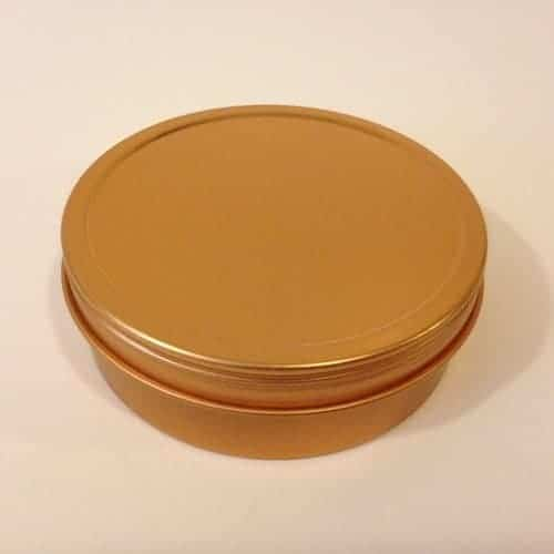 Gold Tins for Aromatherapy