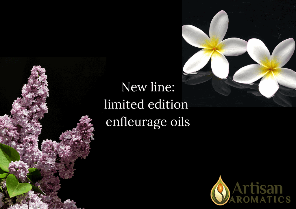 New line-limited edition enfleurage oils